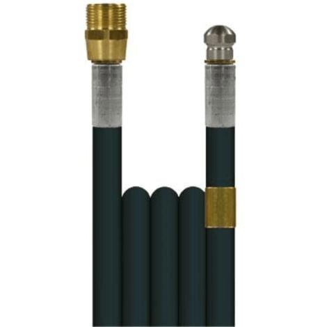 Débouche canalisation: flexible 20m + buse haute pression Kranzle -