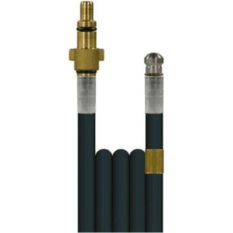 Débouche canalisation: flexible + buse haute pression KEW et Alto -