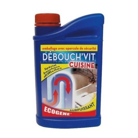 Déboucheur acide sulfurique spécial cuisine flacon 1 l