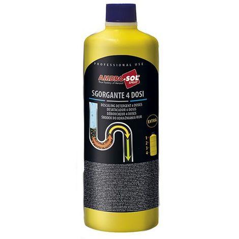 Déboucheur canalisations 1 litre (1,8 Kg) - P306 - Ambro-sol - -