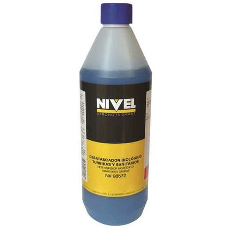 Déboucheur de canalisation chimique biologique 1 Lt Nivel