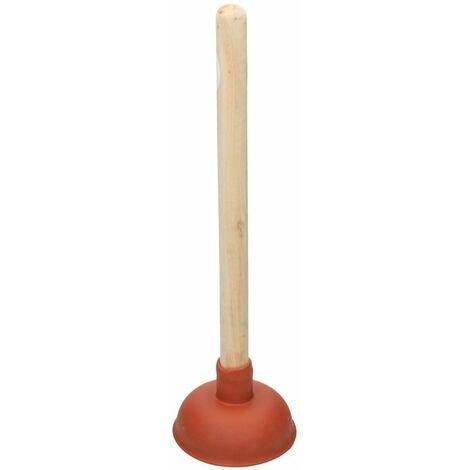 Déboucheur d´évier 111 mm avec manche en bois