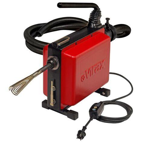 Déboucheur électrique VIRAX VAL 96QC + sections âme plastique 22 mm - 293135