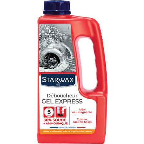 Déboucheur express pour canalisations 1L STARWAX