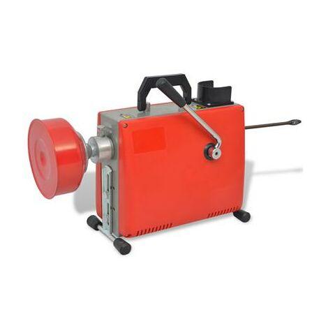 Déboucheur furet électrique de canalisation 250W professionnel