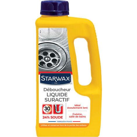 Déboucheur liquide pour canalisations 1L STARWAX