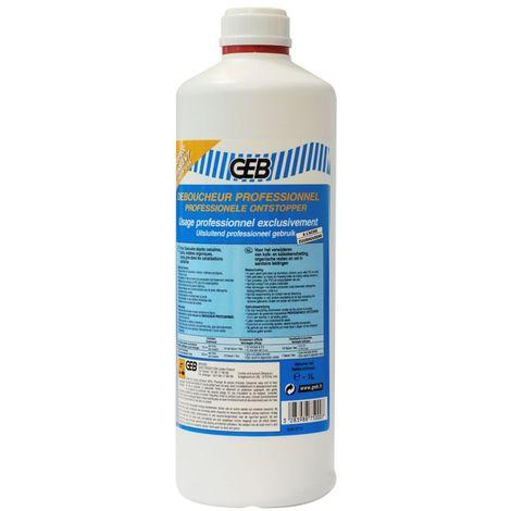 Déboucheur liquide professionnel de canalisations - Bidon 1L