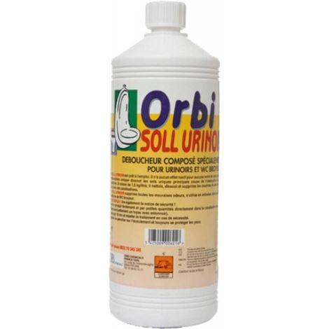 Déboucheur professionnel urinoir Orbi Soll, bidon de litre