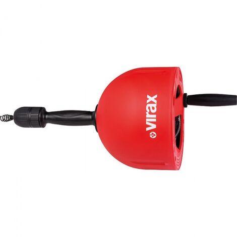 Déboucheur professionnel VAL 26, câble 7.5 m de 7 mm