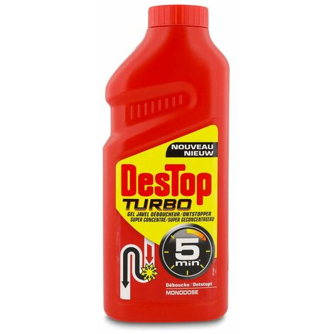 Déboucheur turbo de canalisation 1 litre destop