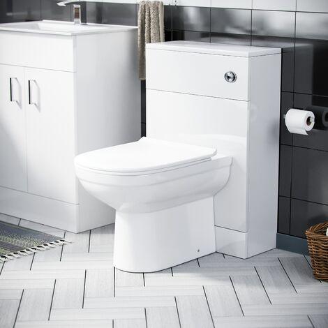 Debra 600 Basin Vanity Unit & WC Toilet