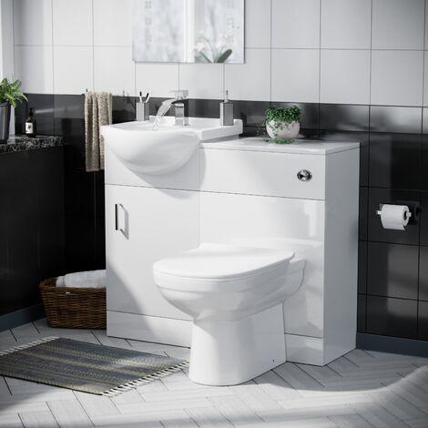 Debra Basin 950 mm Vanity Unit with WC Toilet Set