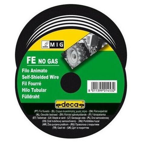 "main image of ""DECA Bobine fil fourre pour soudure MIG acier O fil 0,9 mm 0,7 kg"""