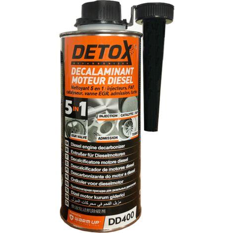 Décalaminant moteur diesel, detox 5en1, 400ml - Warm UP