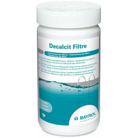 Décalcit filtre 1Kg Bayrol