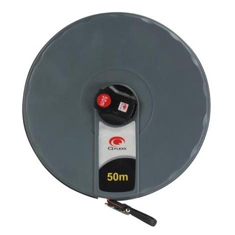 Décamètre - Ruban Fibre De Verre - Boîtier Abs - 50 M