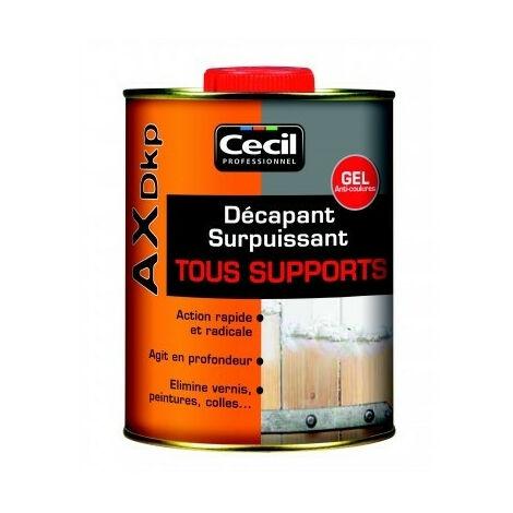 Décapant AX DKP Gel Multi-supports Cecil - plusieurs modèles disponibles