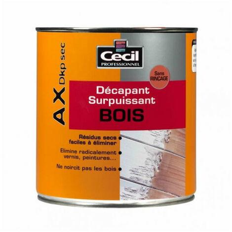 Décapant AX DKP Sec spécial Bois Cecil - plusieurs modèles disponibles