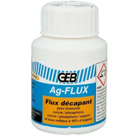 DECAPANT BRASURE ARGENT AGFLUX POT 90G (Vendu par 1)