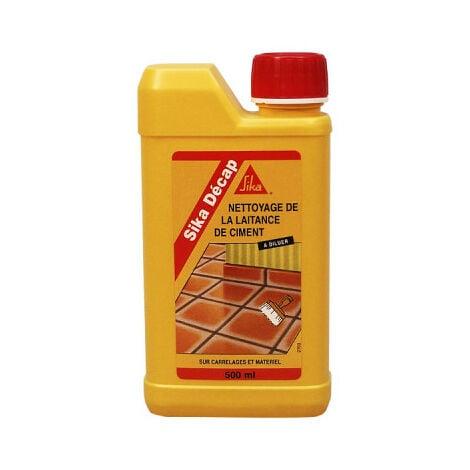 Décapant de laitance du ciment - SIKA Décap - Ambré - 500ml