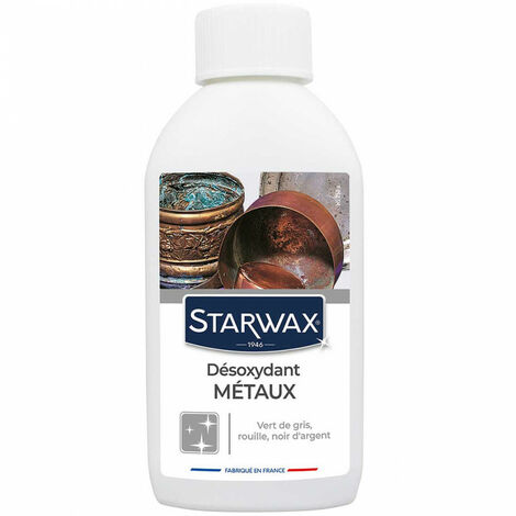 Décapant désoxydant métaux 250 ml Starwax