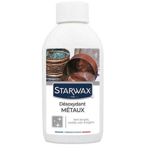 Décapant désoxydant pour métaux 250ml STARWAX