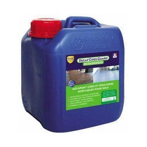 Décapant émulsions et colles - DécapCires Guard® Ecologique 2L - traite jusqu'à 40 m²