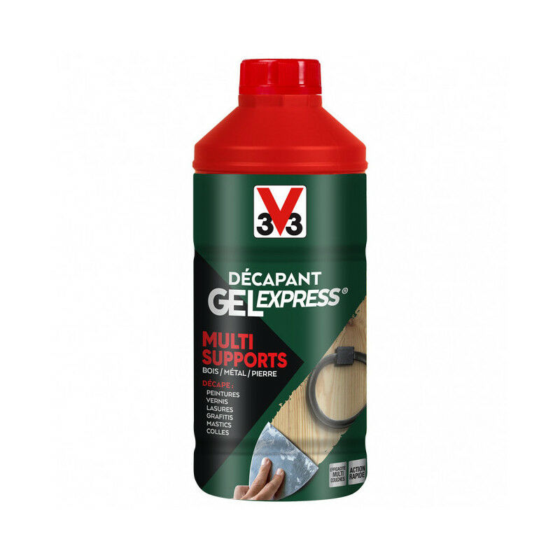 Décapant Gel Express Multi-supports V33 (2l) - Cond. : 2L