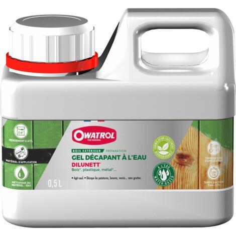 Décapant gélifié à l'eau Dilunett OWATROL - plusieurs modèles disponibles