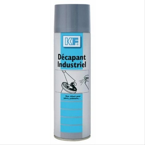 Décapant industriel KF - aérosol 650ml brut - 500ml net