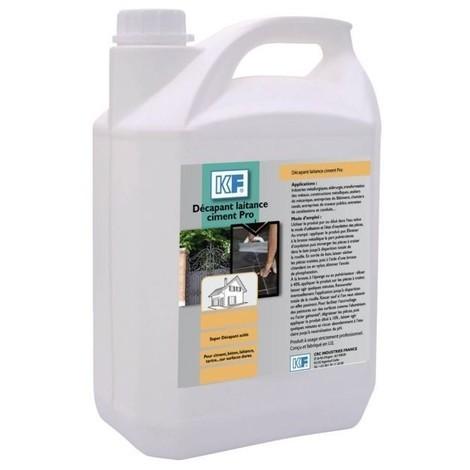 Decapant laitance ciment pro bidon 5l