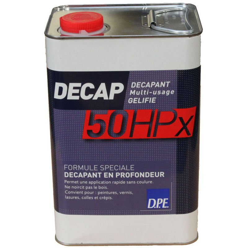 Décapant multi-usage gélifié DECAP 50 HPx - - 5L