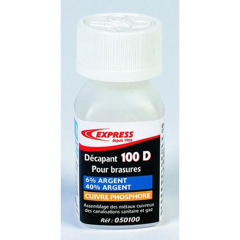 Décapant pour brasures Cu/Ph Ag - Flacon 52 g (sur cartonette)