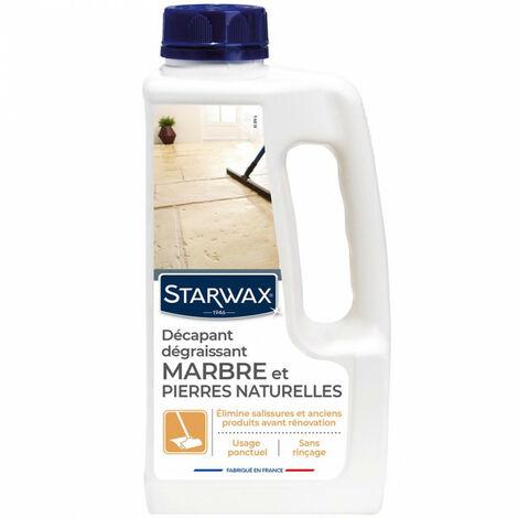 Décapant sans rinçage pour marbre et pierres naturelles 1L Starwax