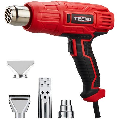 """main image of """"Décapeur thermique 2000W TEENO avec 4 accessoires - Rouge"""""""