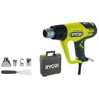 Décapeur thermique RYOBI 2000W affichage LCD EHG2020LCD