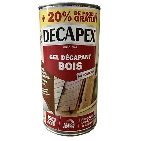 DECAPEX Gel décapant bois - 1,2L
