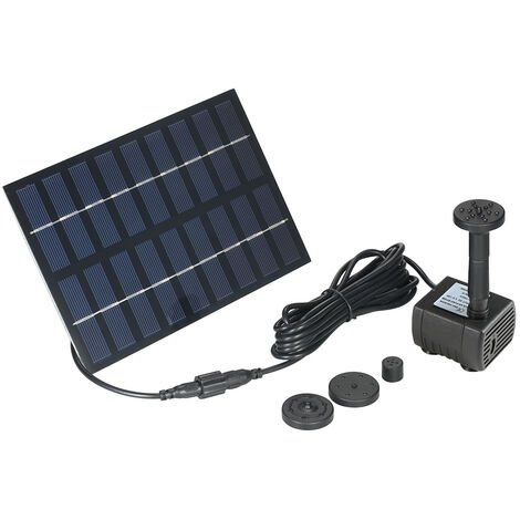 Decdeal Nouvelle pompe aeau solaire sans balai afaible luminosite