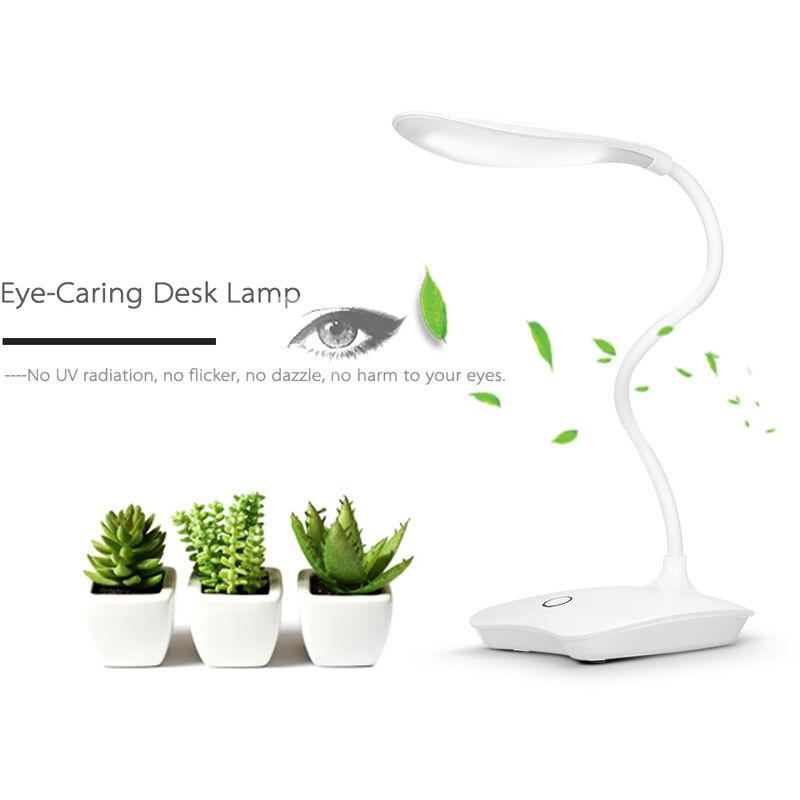 Rechargeable Lampe Decdeal Pour YeuxDimmableUsb White Led Ultralight De Les Bureau 13FKJlTc