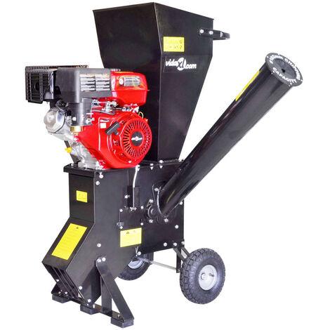 Déchiqueteuse de bois à essence avec moteur de 15 CH