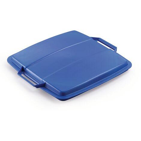 Deckel PP blau B507xT470mm f.Abfallsammler 90l lebensmittelecht DURABLE