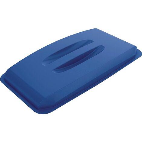 Deckel PP blau B555xT285mm Wertstoffsammler 60l lebensmittelecht DURABLE