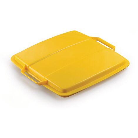 Deckel PP gelb B507xT470mm f.Abfallsammler 90l lebensmittelecht DURABLE