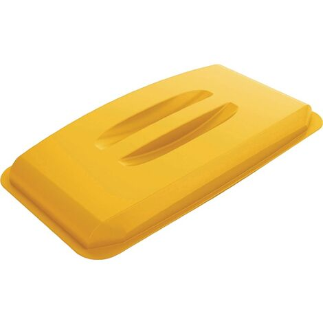 Deckel PP gelb B555xT285mm Wertstoffsammler 60l lebensmittelecht DURABLE
