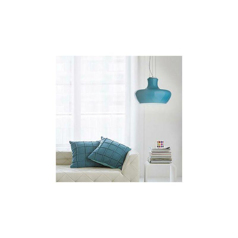 ALADINO Blue Pendelleuchte 1 Glühbirne - 01-IDEAL LUX