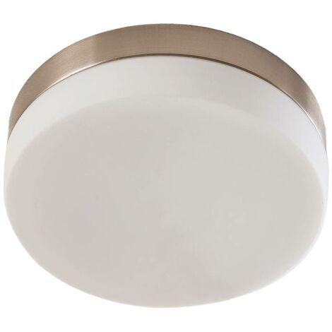Deckenlampe aus Metall dimmbar für Badezimmer von Lampenwelt -