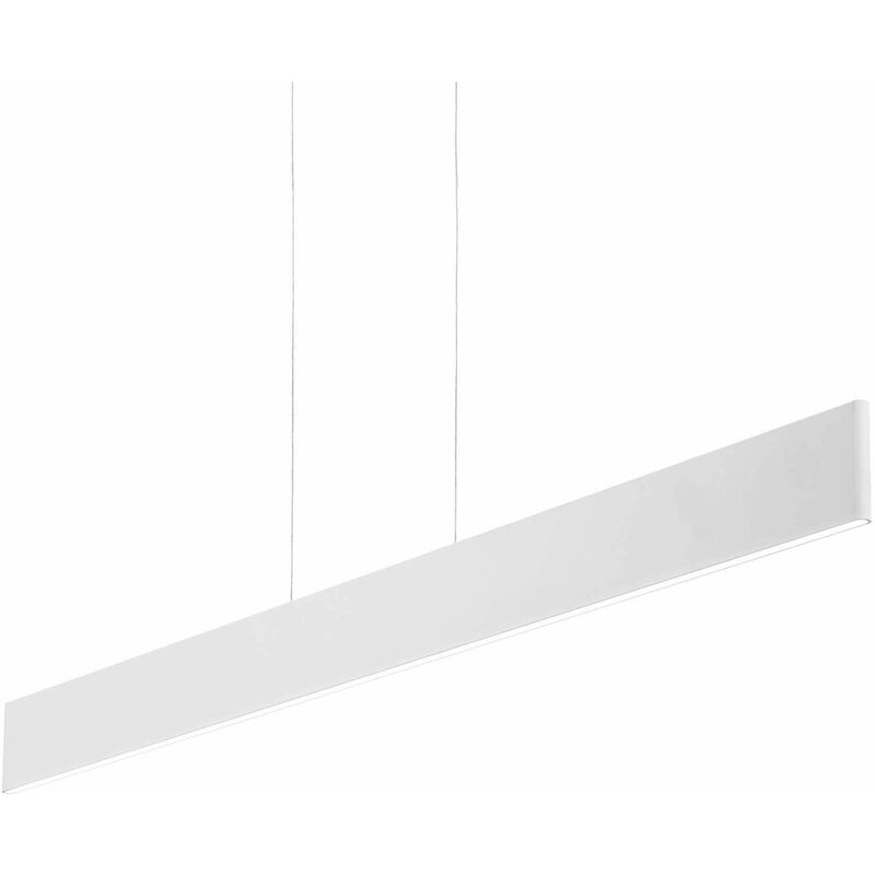 Weiße DESK Pendelleuchte 1 Glühbirne