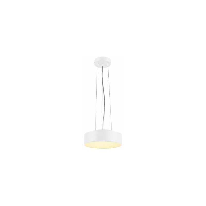 Certeo - MEDO 30 LED Deckenleuchte,weiss, optional abpendelbar
