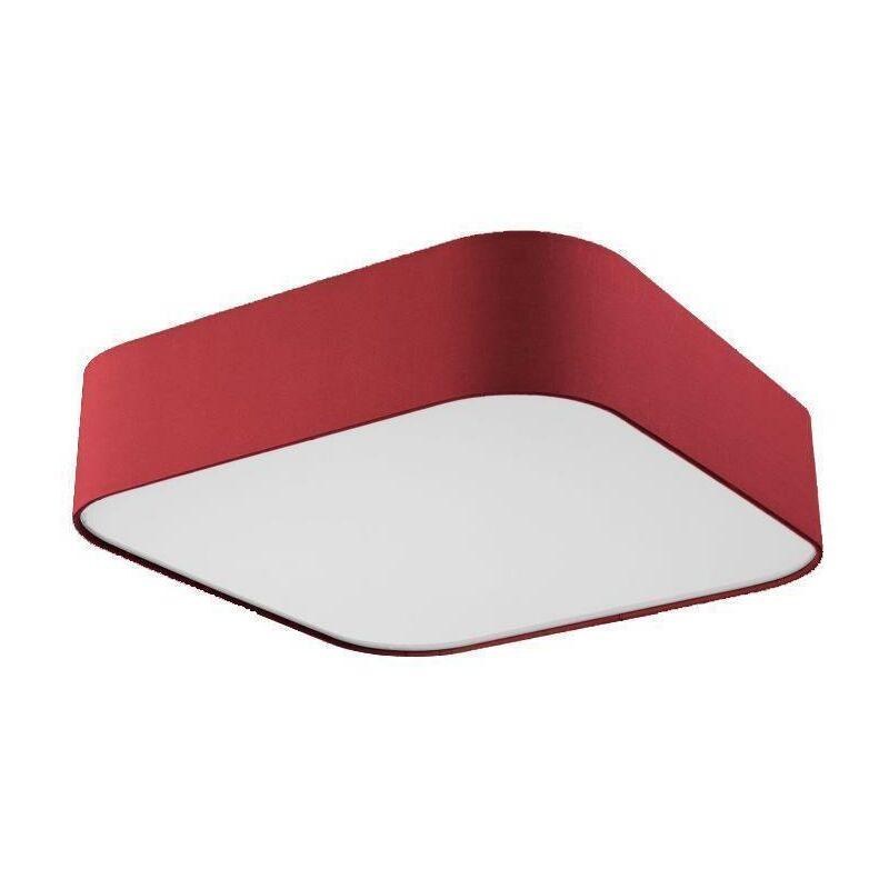 Deckenleuchte Sorpetaler Deckenlampe LED Stofflampe Stoffleuchte eckig 60x60cm