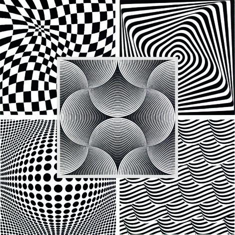 SHELLS BLACK 20 m2 Deckenplatten Panorama-Effekt Styroporplatten 50x50cm